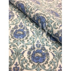 Vista doblez algodón Alba azul